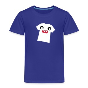 Kawaii Shirt Scared - Kinder Premium T-Shirt