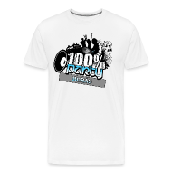 T-shirts ~ Premium-T-shirt herr ~ 100% BORÅS