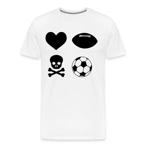 Love rugby - Men's Premium T-Shirt
