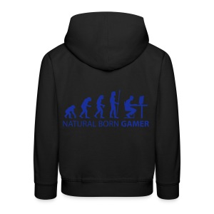 Evolution of Gamers - Kids - Kids' Premium Hoodie