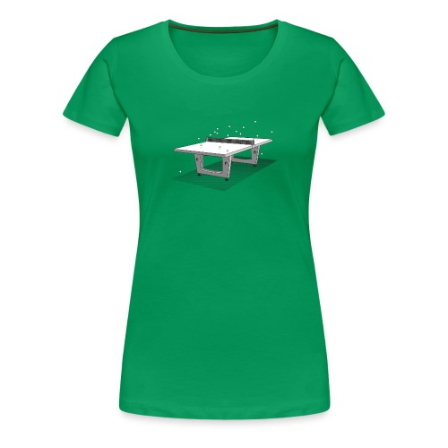 Women's Table Tennis - Women's Premium T-Shirt