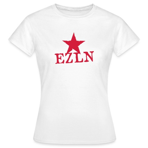 EZLN Red Star Woman's T-Shirt - Women's T-Shirt