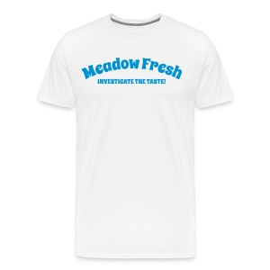 Meadow Fresh Vintage Logo - Men's Premium T-Shirt