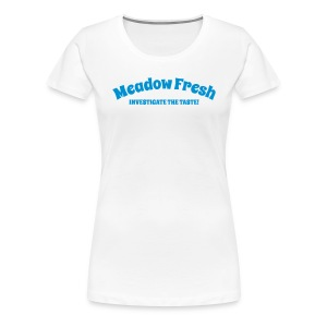 Meadow Fresh Vintage Logo - Women's Premium T-Shirt