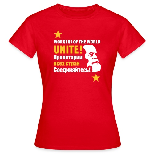 Marxist Workers Woman's T-Shirt - Women's T-Shirt