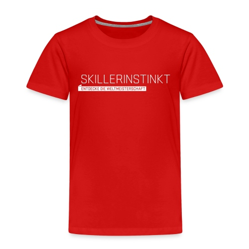 Skillerinstinkt Kids' T-Shirt - Kids' Premium T-Shirt