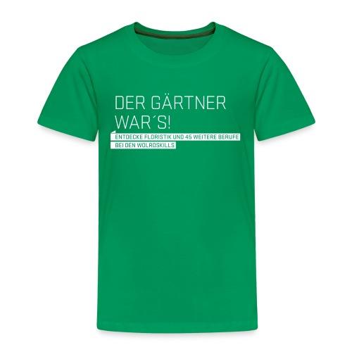 Der Gärtner war's Kids' T-Shirt  - Kids' Premium T-Shirt