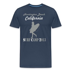 Huntington Beach California 2013 Surf Camp - Männer Premium T-Shirt