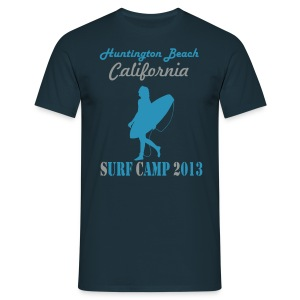 Huntington Beach California 2013 Surf Camp - Männer T-Shirt
