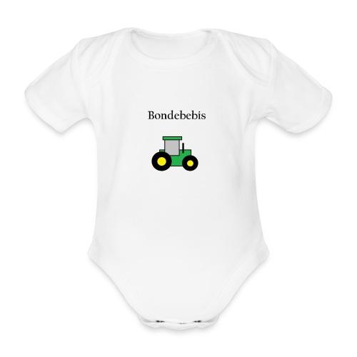 Bondebebis - Ekologisk kortärmad babybody