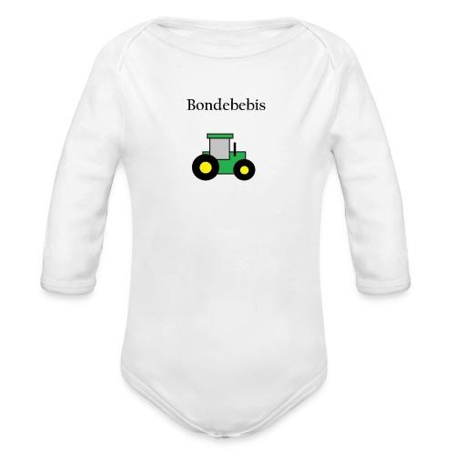Bondebebis - Ekologisk långärmad babybody