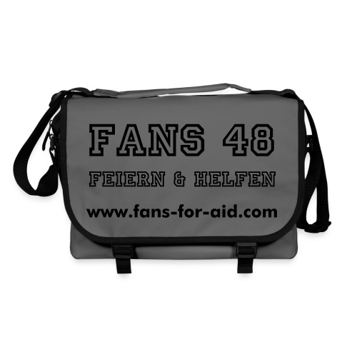 Fans for Aid - BagBase - Charity Produkt - Umhängetasche
