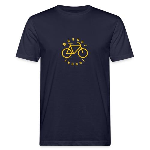 Fahrrad T-Shirt Besser isses! - Männer Bio-T-Shirt
