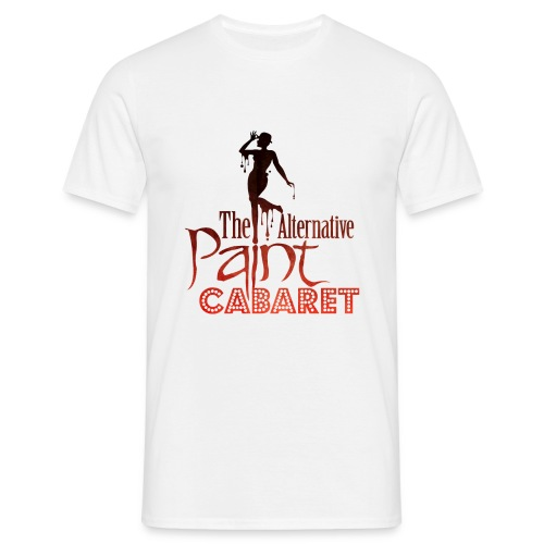 The Alternative Paint Cabaret logo, men - Men's T-Shirt