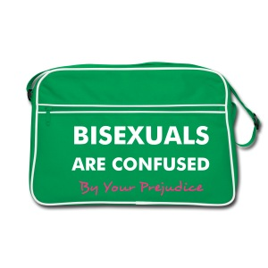 Bisexuals are Confused - Retro Bag