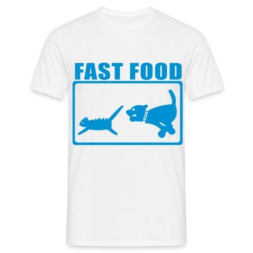 Fast Food T Shirt - Herre-T-shirt