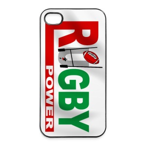 Rugby power - iPhone case - Coque rigide iPhone 4/4s