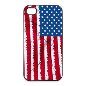USA flag - coque smartphone - Coque rigide iPhone 4/4s