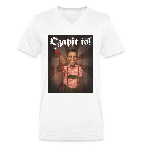 Ozapft Männer-Shirt A - Männer Bio-T-Shirt mit V-Ausschnitt von Stanley & Stella