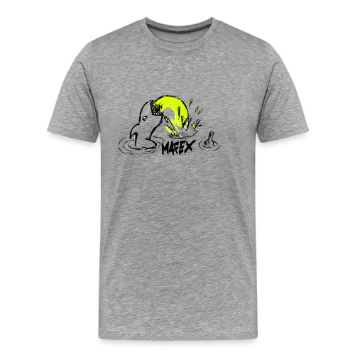 Hai grau - Männer Premium T-Shirt