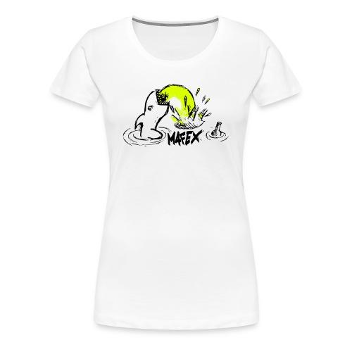 Hai weiß - Frauen Premium T-Shirt