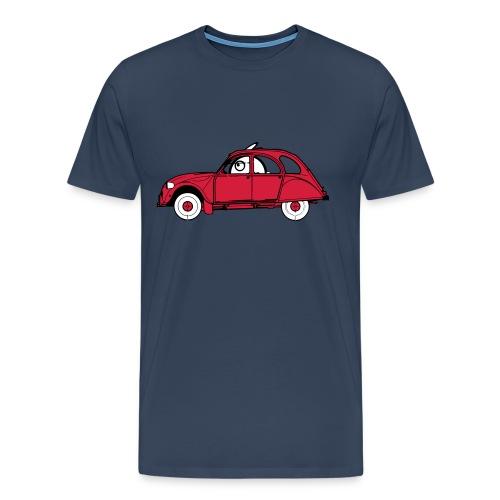 Konijntje Eendje Blauw - Mannen Premium T-shirt