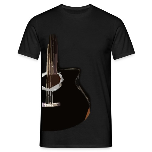Guitarr - T-shirt herr
