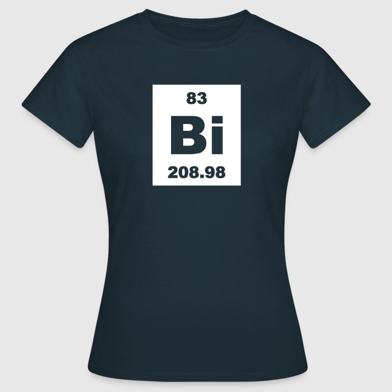 Bismuth (Bi) (element 83) - Women's T-Shirt
