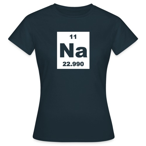 Sodium (Na) (element 11) - short invert Shirt - Women's T-Shirt