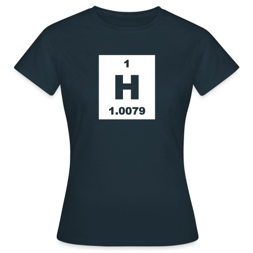 Hydrogen (H) (element 1) - short invert Shirt - Women's T-Shirt