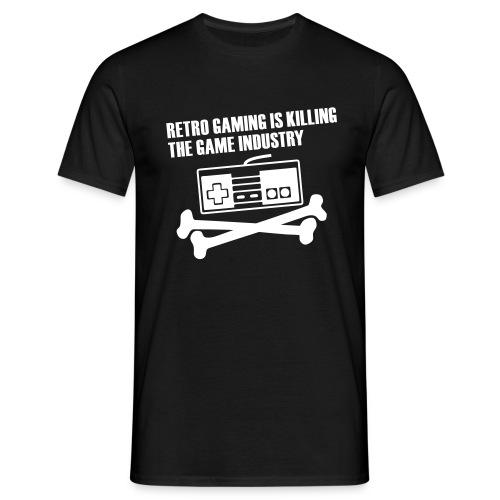 Retrogamer - T-shirt Homme