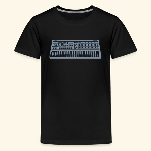 Synthesizer Unisex T-Shirt for teenager - Teenage Premium T-Shirt