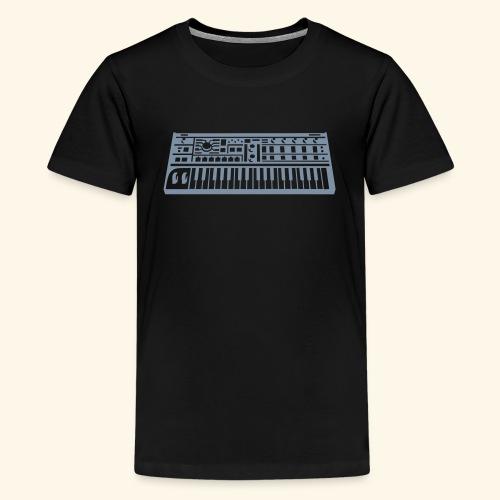 Synthesizer Unisex T-Shirt for teenager - Teenage Premium T-Shirt