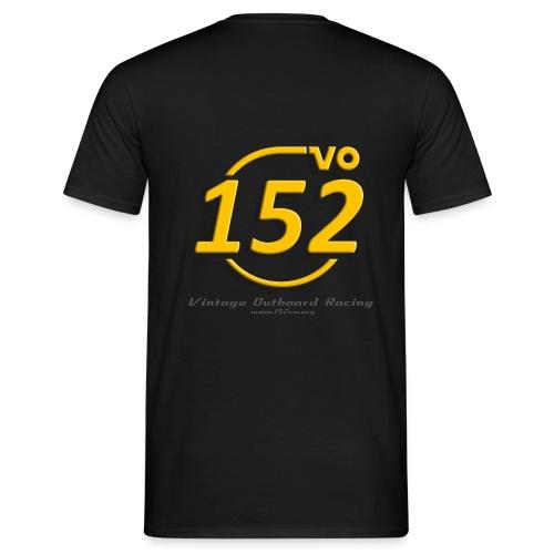 Pit Crew / sunset (Vorderseite: Name) - Männer T-Shirt