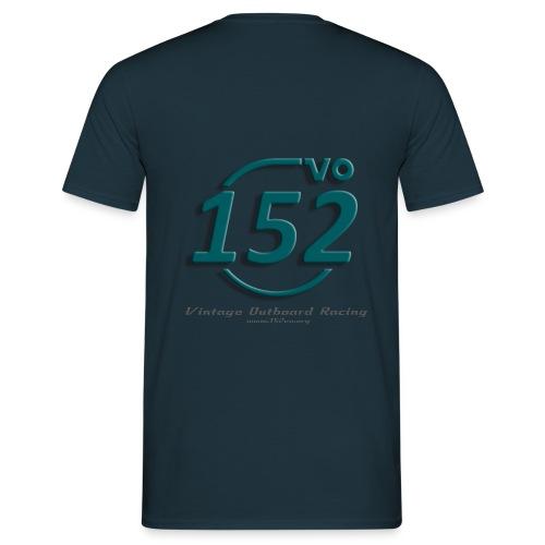 Pit Crew / petrol (Vorderseite: Name) - Männer T-Shirt