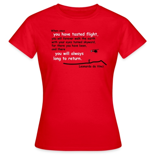 Leonardo da Vinci - Frauen T-Shirt