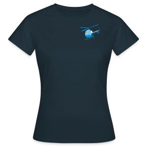 love to fly jet ranger - Frauen T-Shirt