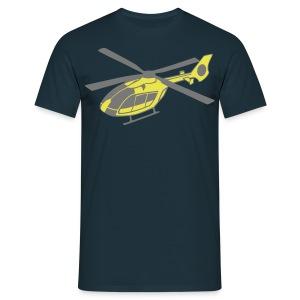ec 135 gelb - Männer T-Shirt