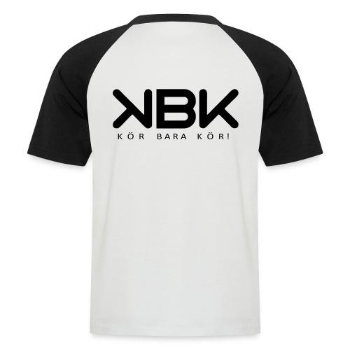 KBK Baseball (Herr) - Kortärmad basebolltröja herr