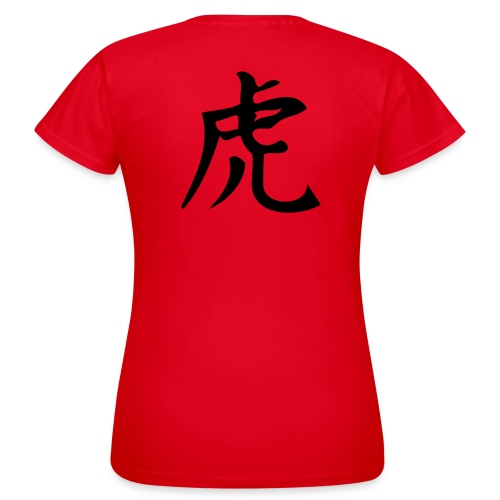 Chinesich Tiger - Frauen T-Shirt