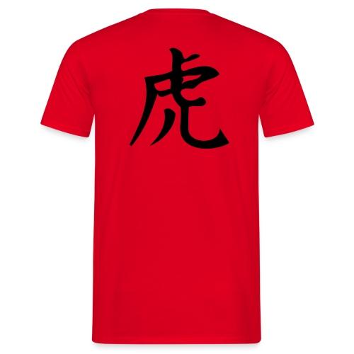 Chinesisch Tiger - Männer T-Shirt