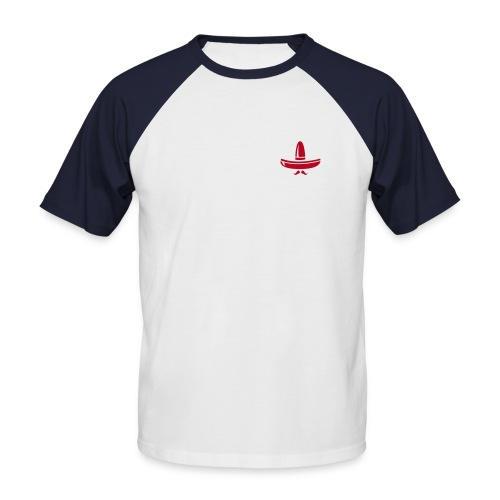 peyobar - T-shirt baseball manches courtes Homme