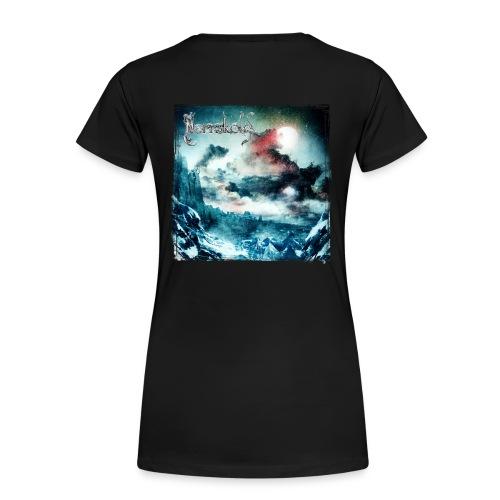 Norrsköld, t-shirt, dam, dubbelsidig - Premium-T-shirt dam
