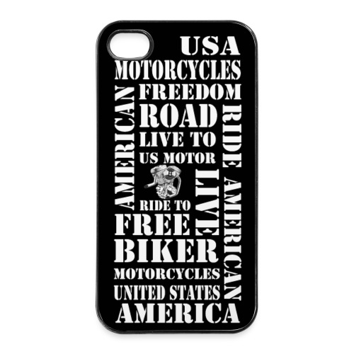 coque smartphone us motorcycles - Coque rigide iPhone 4/4s