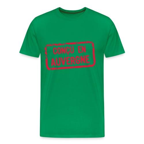Conçu en auvergne - T-shirt Premium Homme