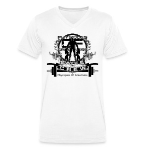 Swole Crew v1 Vneck - Men's V-Neck T-Shirt