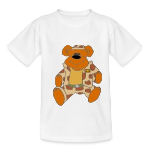 Kids Classic T - Combat Bear - Teenage T-shirt