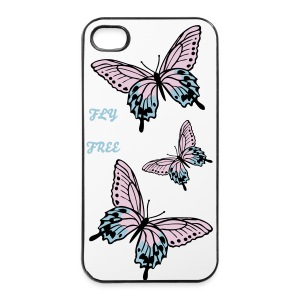 fly free - iPhone 4/4s Hard Case