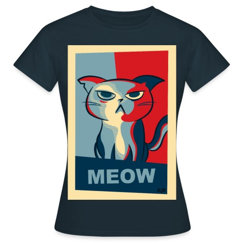 Vote for Meow - T-shirt Femme