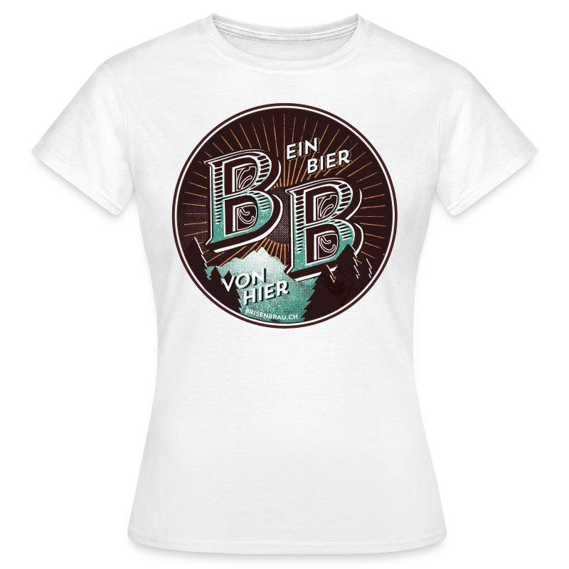 BB-rund-farb-txt2.gif - Frauen T-Shirt